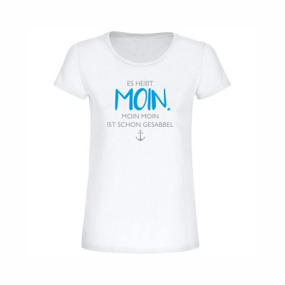 """T-Shirt """"Es heißt MOIN."""" - Damen"""