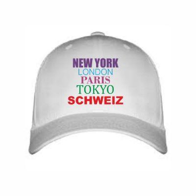 "Cap ""New York, London, Schweiz"""