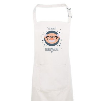 "Koch- und Backschürze ""Für meinen Lieblingsopa"""