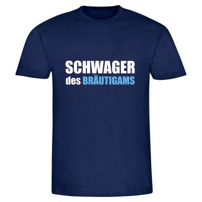 """T-Shirt """"Schwager des Bräutigams"""" - Herren"""