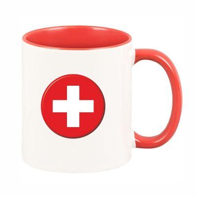 """Tasse """"Schweizer-Flagge"""""""
