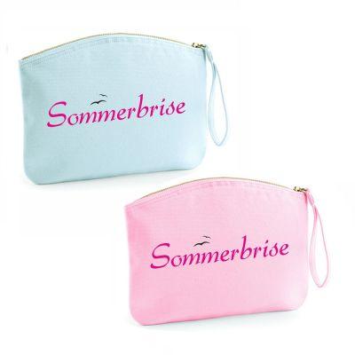 "Kulturtasche ""Sommerbrise"" (Farbe: rosa oder hellblau)"