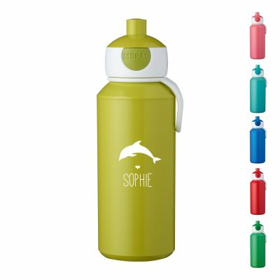 """Trinkflasche """"Delfin Silhouette"""" - personalisiert"""