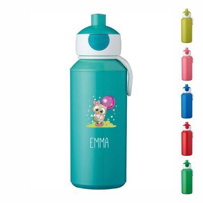 "Trinkflasche ""Eule"" - personalisiert"
