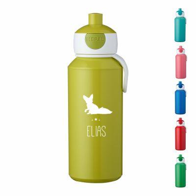 """Trinkflasche """"Fuchs Silhouette"""" - personalisiert"""