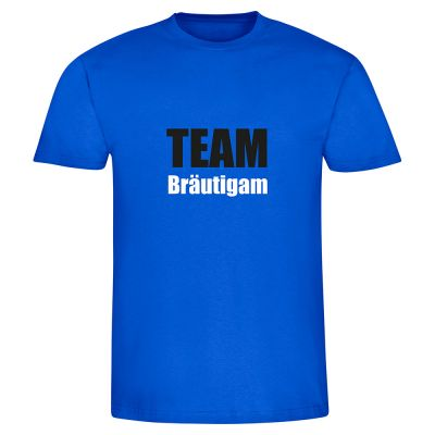 "T-Shirt ""Team Bräutigam"" - Herren"
