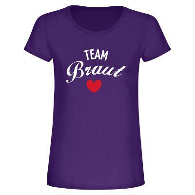 """T-Shirt """"Team Braut"""" - Damen"""