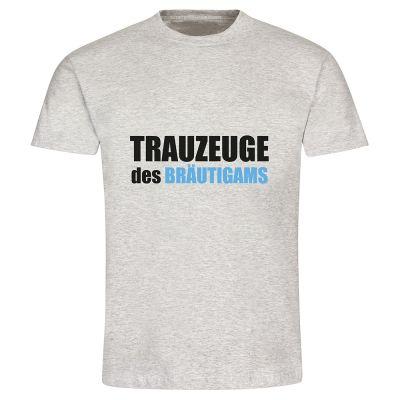 """T-Shirt """"Trauzeuge des Bräutigams"""" - Herren"""