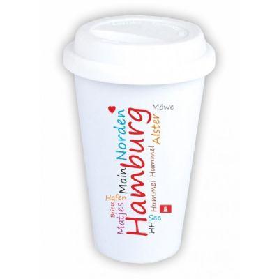 """Coffee-to-go Becher """"typisch Hamburg"""""""