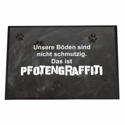 """Fußmatte """"Pfotengraffiti"""""""