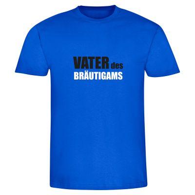 "T-Shirt ""Vater des Bräutigams"" - Herren"