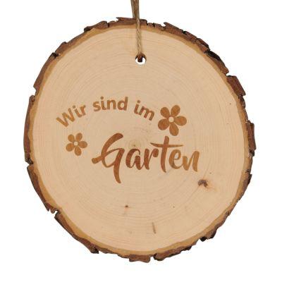 """Baumscheibe """"Wir sind im Garten"""""""