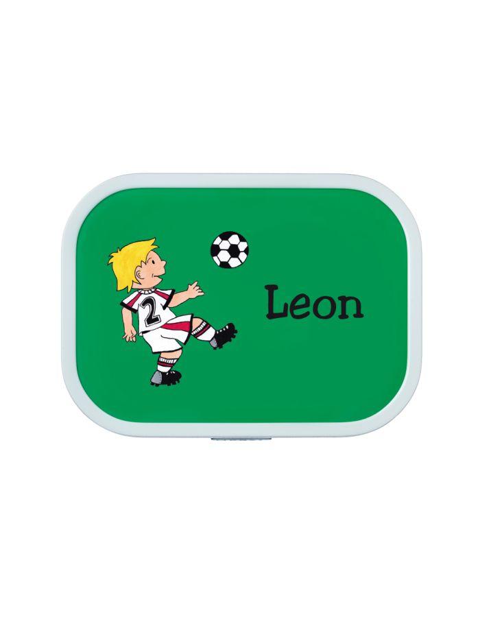 """Brotdose """"Fußballer"""" - personalisiert"""