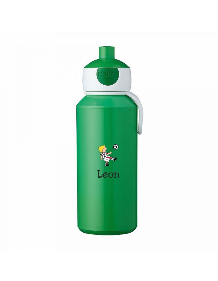 """Trinkflasche """"Fußballer"""" - personalisiert"""