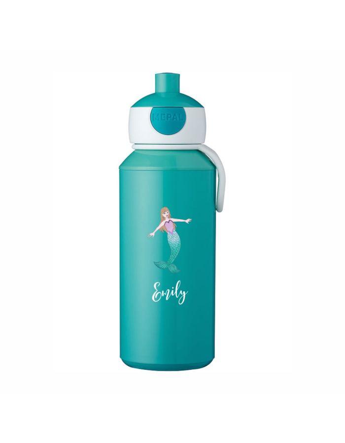 """Trinkflasche """"Meerjungfrau"""" - personalisiert"""