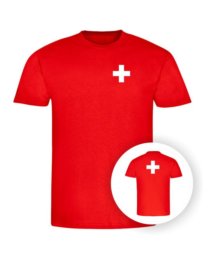 """T-Shirt """"Schweizer Flagge"""" - Herren"""