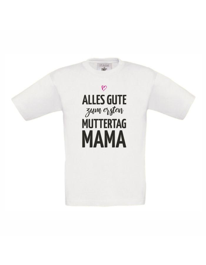"""Personalisiertes Kinder T-Shirt """"Alles Gute zum [Zahl]. Muttertag, Mama"""""""