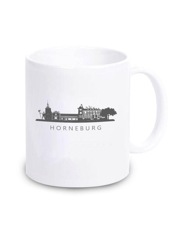 """weiße Tasse """"Horneburg"""""""