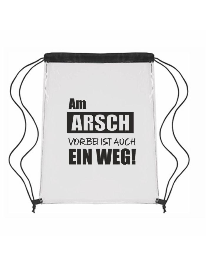 """Festival-Bag """"Am Arsch vorbei ist auch ein Weg!"""""""