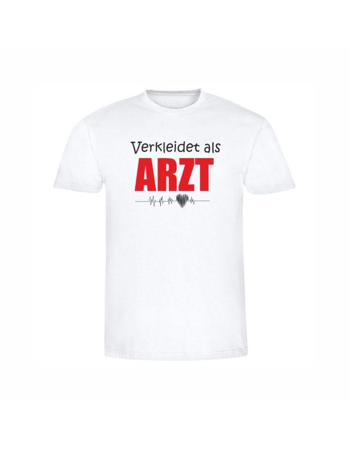 """T-Shirt """"Verkleidet als Arzt"""" - Herren"""