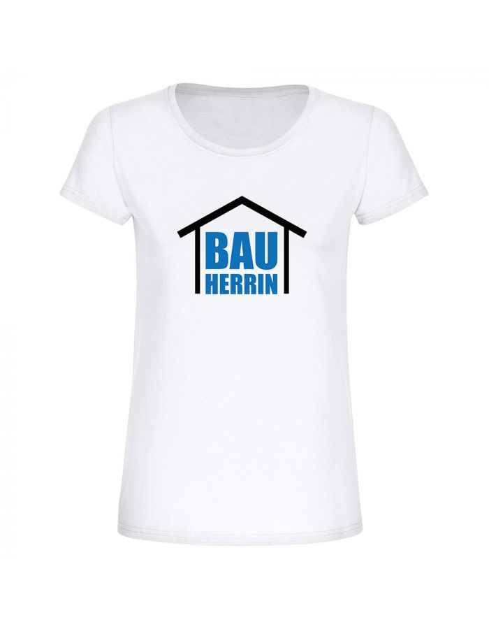 "T-Shirt ""Bauherrin"" - Damen"