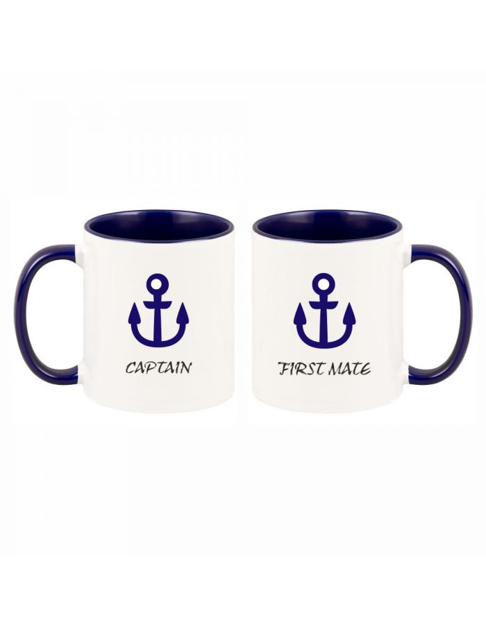 "Tassen-Set ""Captain & First Mate"""