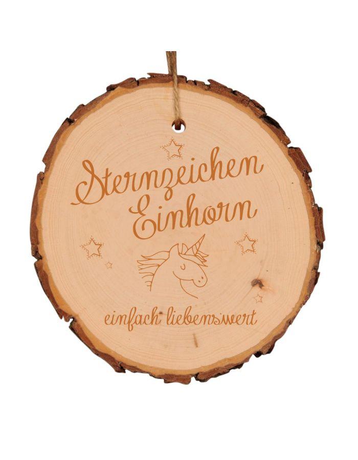 """Baumscheibe """"Sternzeichen Einhorn"""" (verschiedene Größen)"""