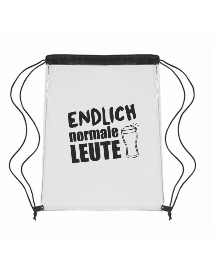 "Festival-Bag ""Endlich normale Leute"""