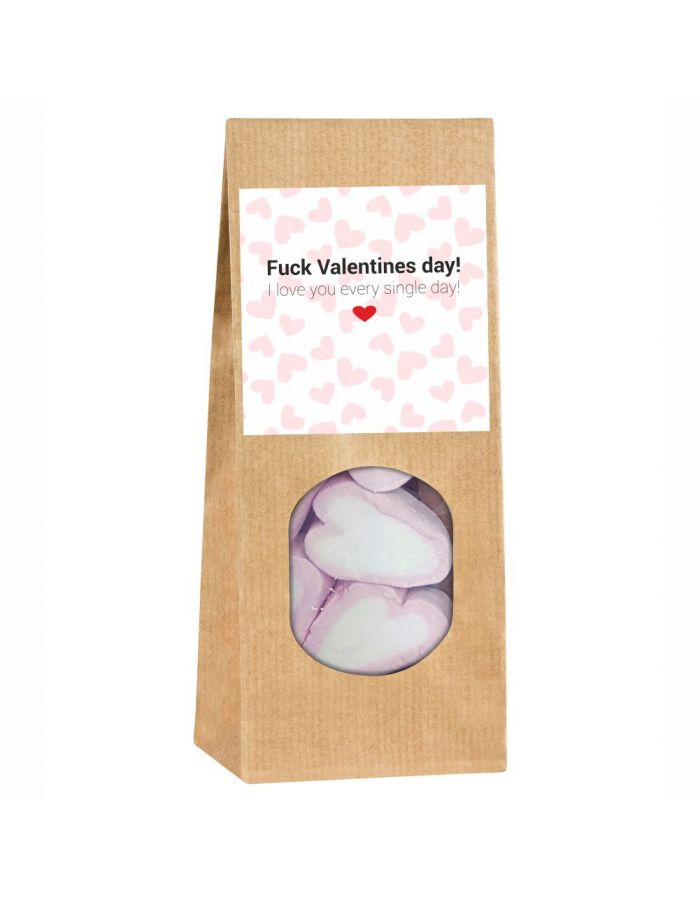 """Geschenktüte """"Fuck Valentines day! I love you every single day!"""""""