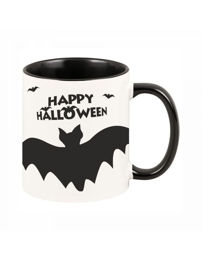 "Tasse ""Happy Halloween"" (Fledermaus)"