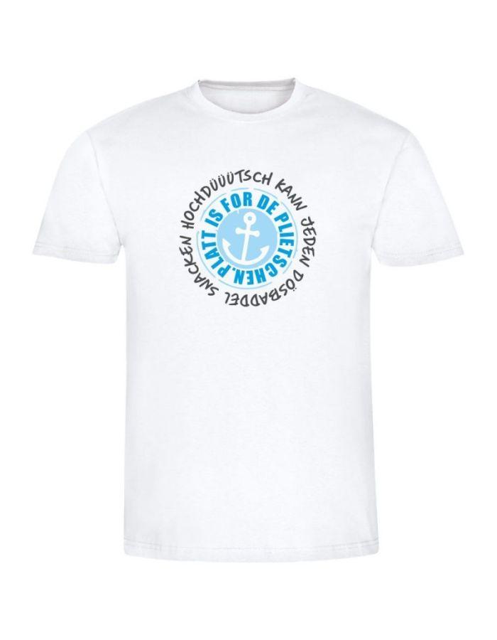 """T-Shirt """"Platt is for de plietschen!"""" - Herren"""