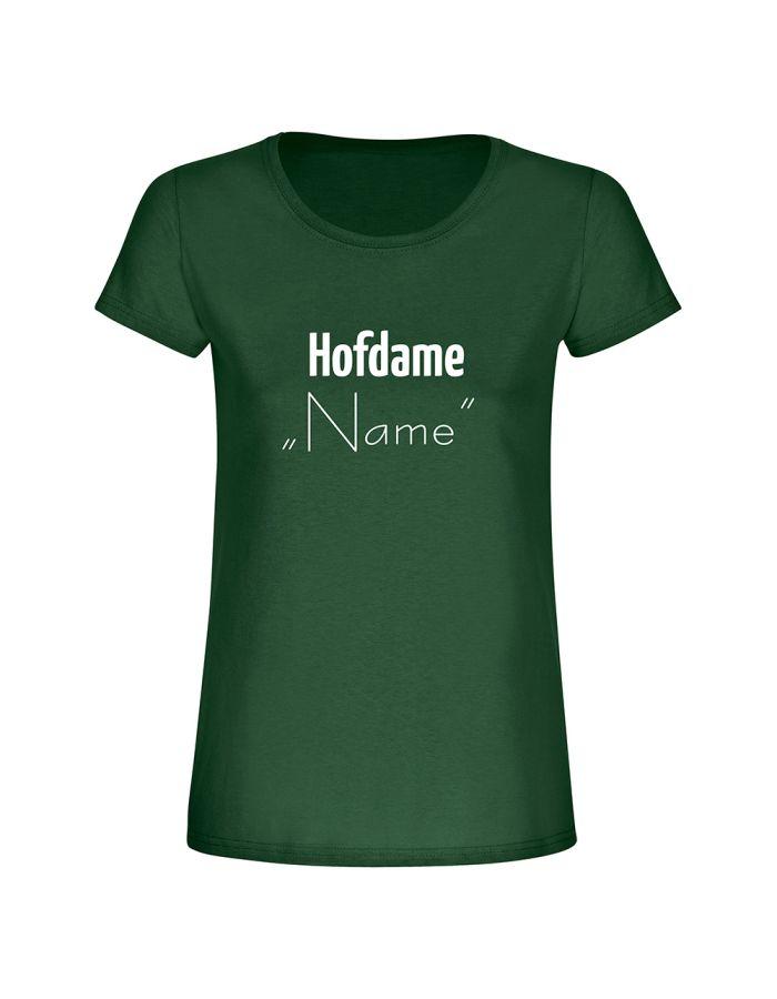 "T-Shirt ""Hofdame + Name"" - personalisiert - Damen"