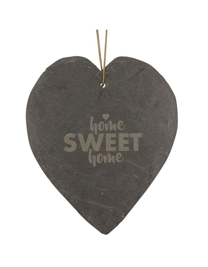 "Schieferherz ""Home Sweet Home ♥"""