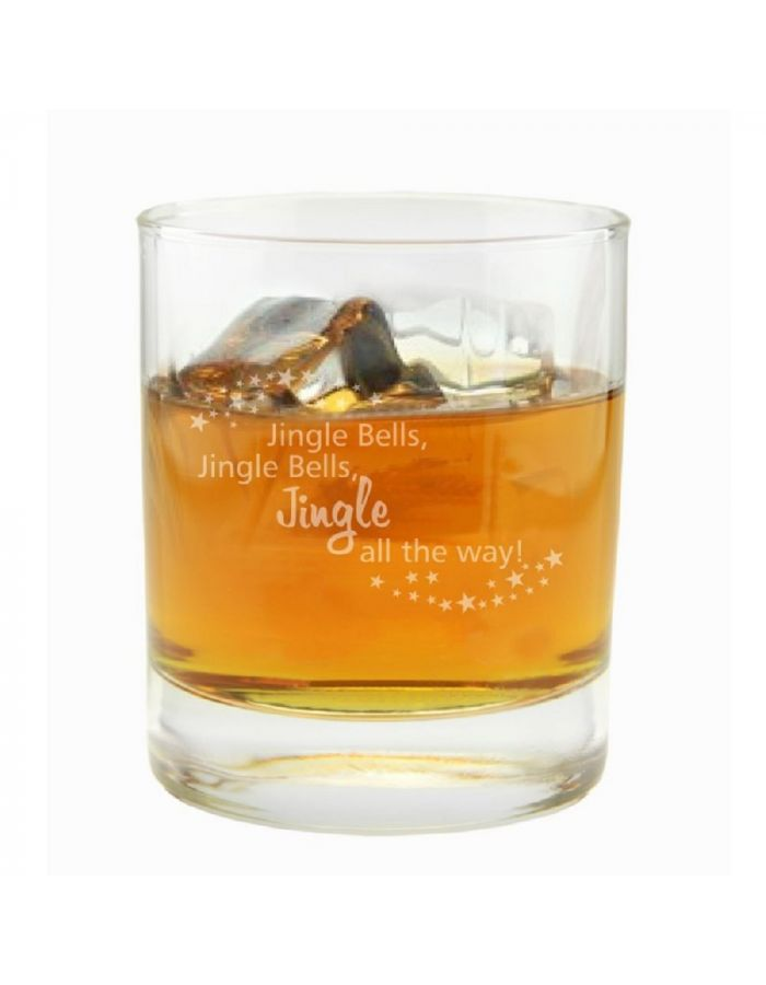"Whiskyglas ""Jingle Bells"""