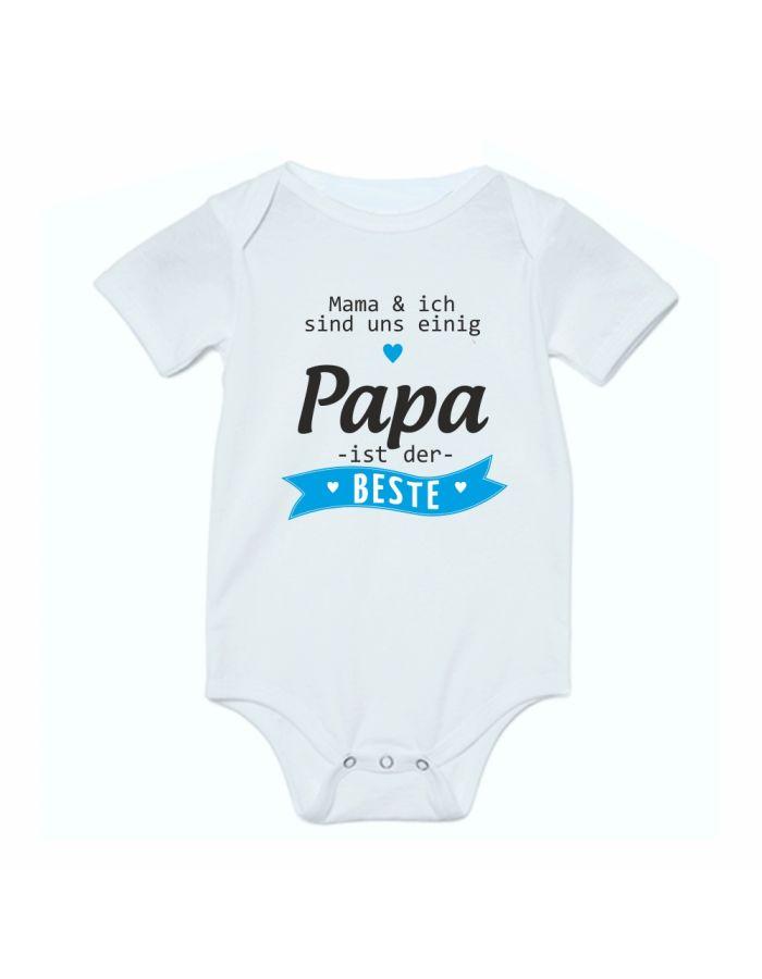 """Babybody """"Papa ist der Beste!"""""""