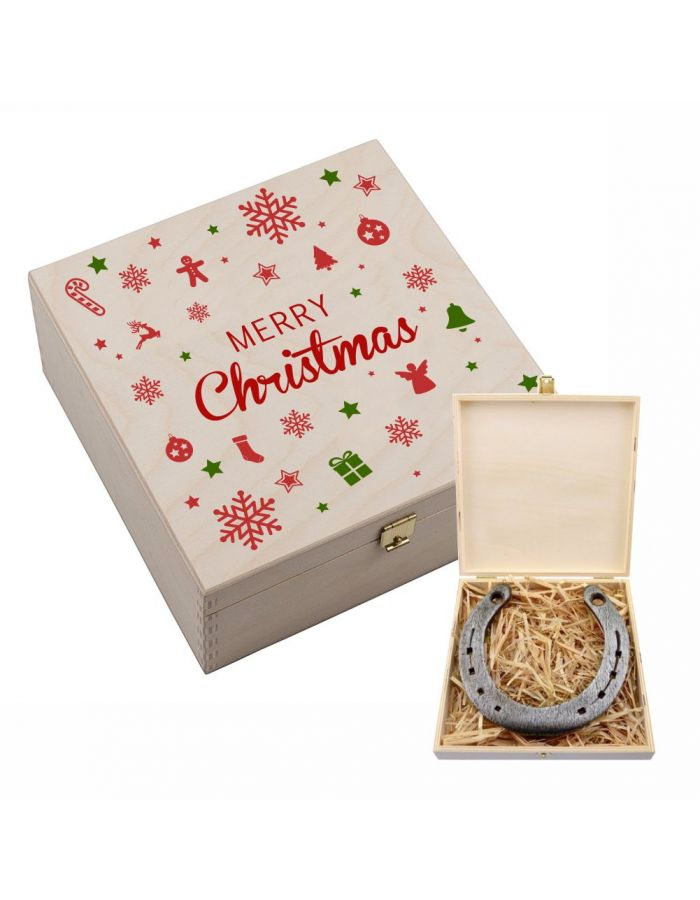 "Hufeisen-Box ""Merry Christmas!"""