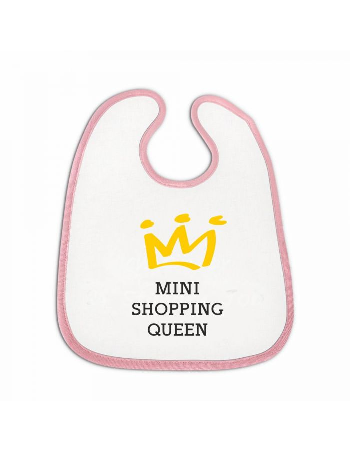 """Lätzchen """"Mini Shopping Queen"""""""