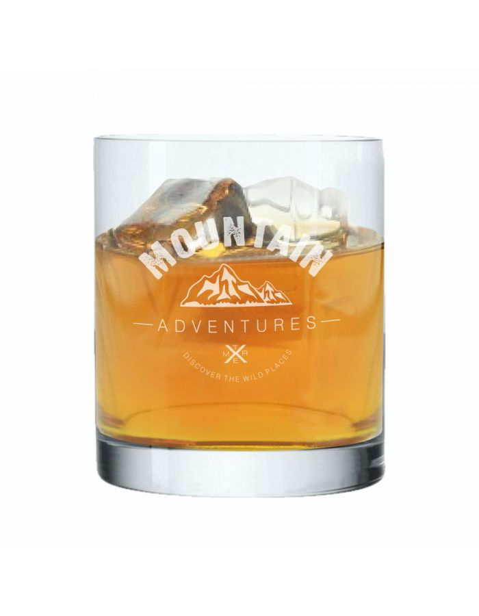 "Whiskyglas ""Mountain Adventures"""