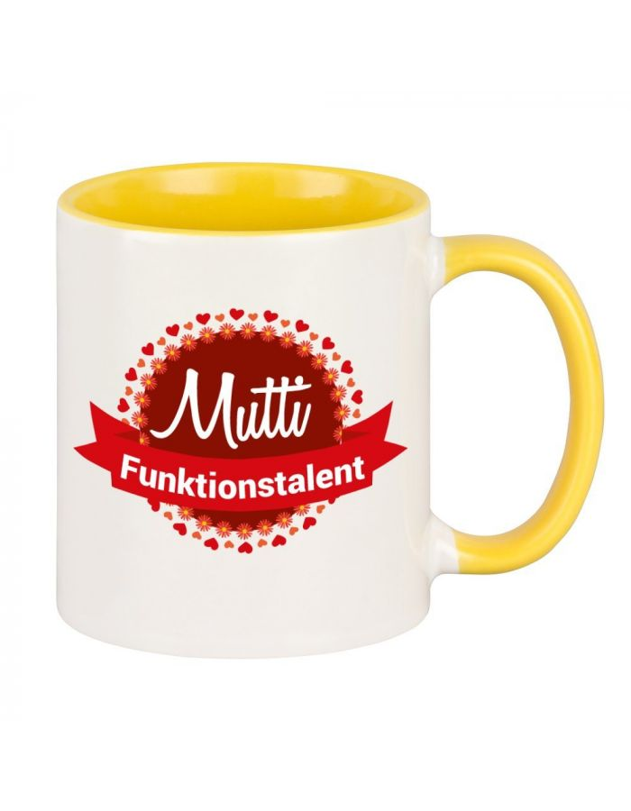 """Tasse """"Mutti Funktionstalent"""""""