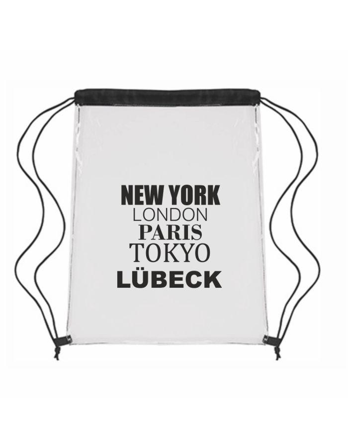 "Festival-Bag ""New York, London, Paris, Tokyo, Lübeck"""