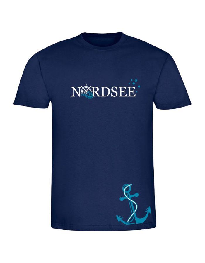 """T-Shirt """"Nordsee + Ankermotiv"""" - Herren"""