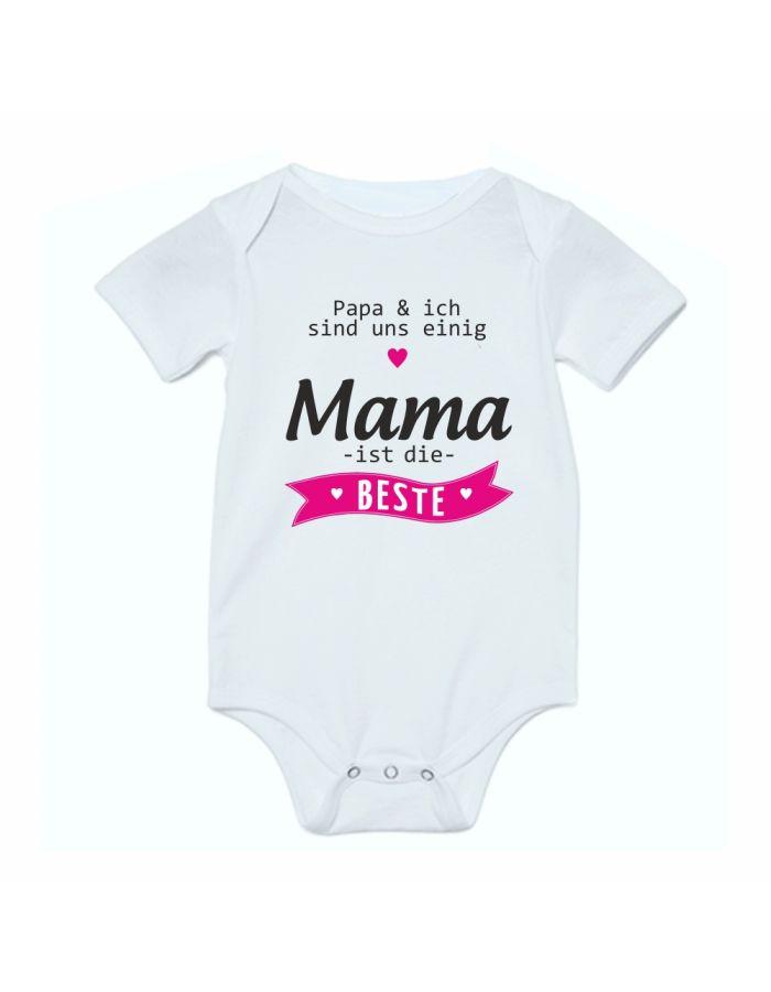 """Babybody """"Mama ist die Beste!"""""""
