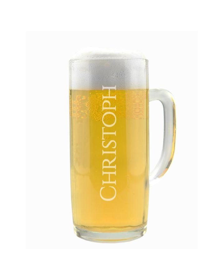 Personalisierter Bierkrug mit Wunschnamen