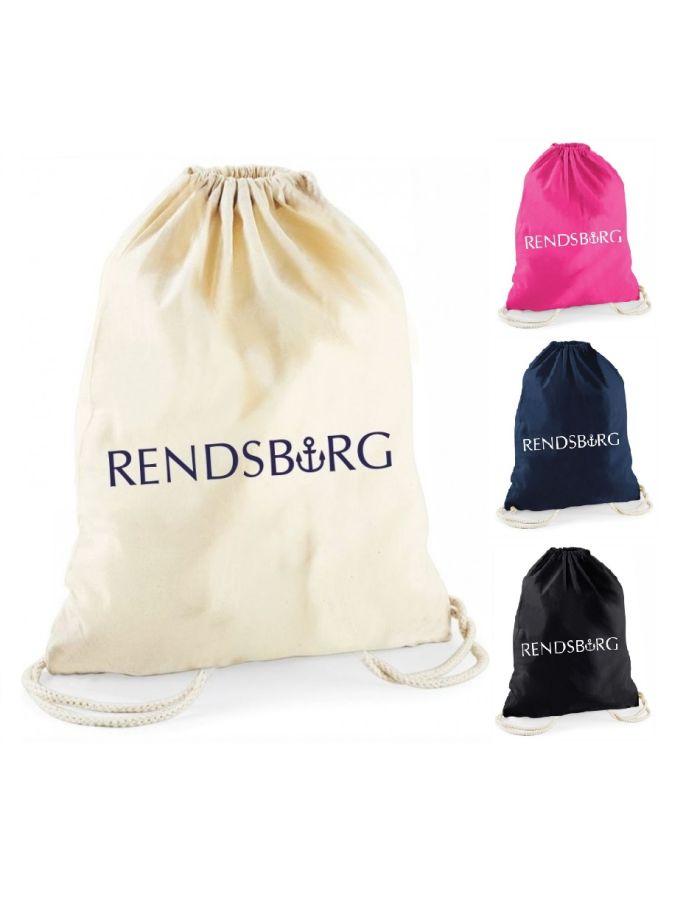 """Statement-Turnbeutel """"Rendsburg"""""""