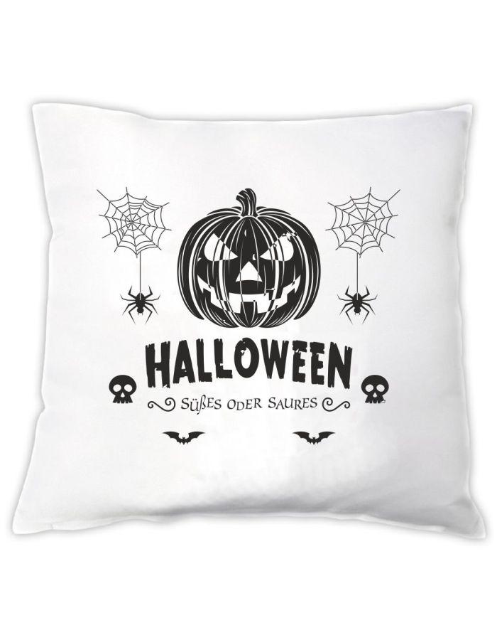 """Halloween Kissen """"Süßes oder Saures"""""""