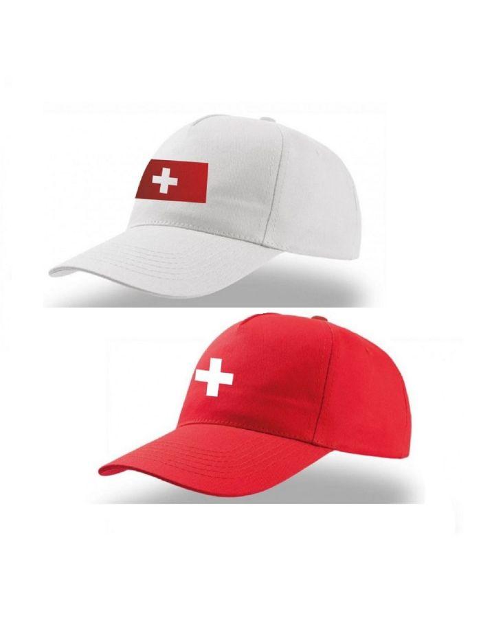 "Cap ""Schweizer Flagge"""