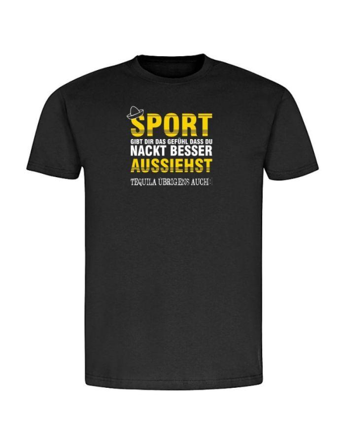 """T-Shirt """"Sport & Tequila"""" - Herren"""