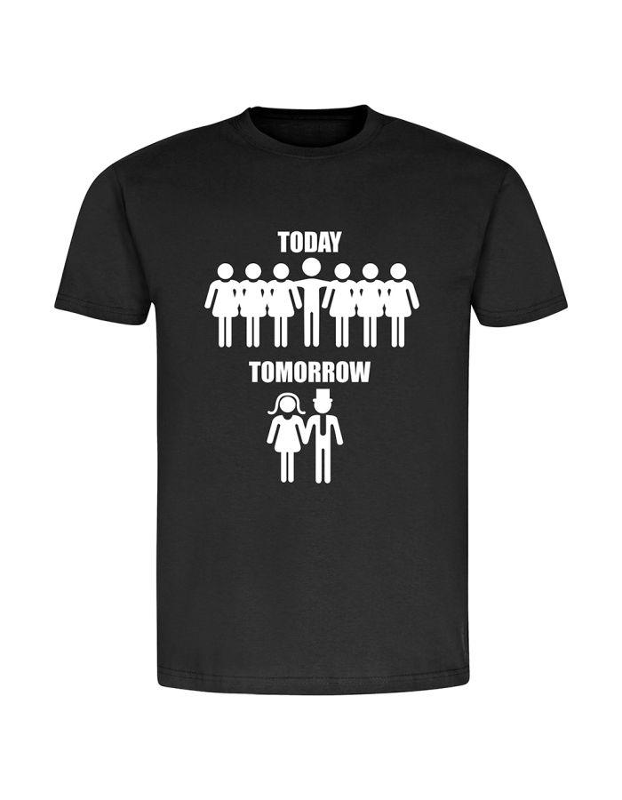 "T-Shirt ""Today - Tomorrow"" - Herren"