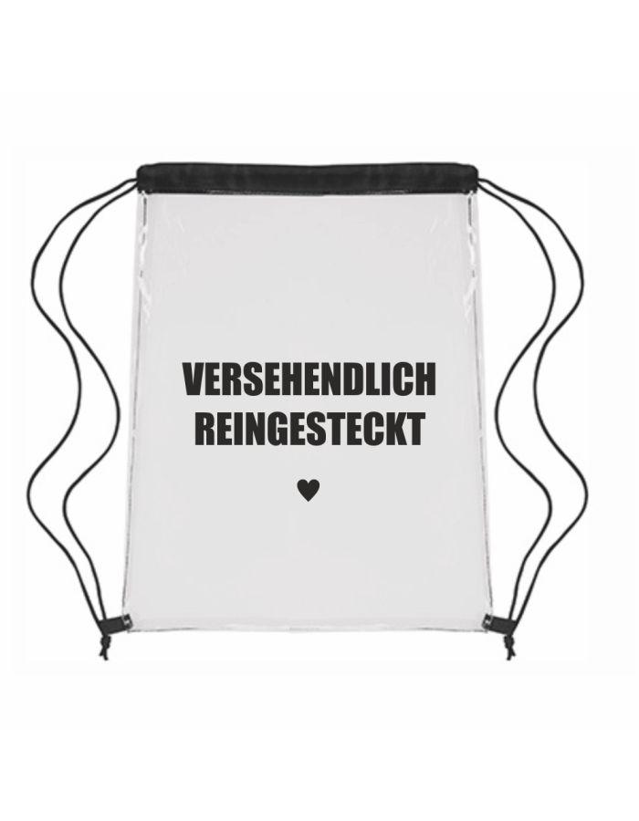 """Festival-Bag """"Versehendlich reingesteckt ♥"""""""