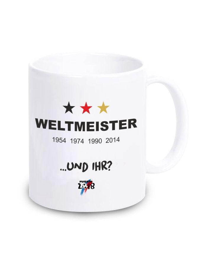 """Tasse """"Weltmeister - und Ihr?"""""""